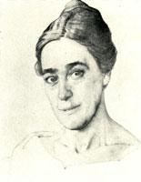 Портрет Н.Е. Добычиной (1921 год)