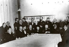 Годовое собрание членов Мира искусства (3 марта 1914 г.)