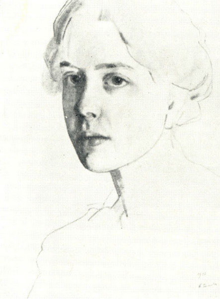 Портрет С.П. Званцевой (1911 г.)