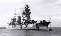 Краснознаменный линейный корабль Октябрьская Революция после войны