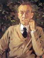 Портрет С.В. Рахманинова (1925 г.)
