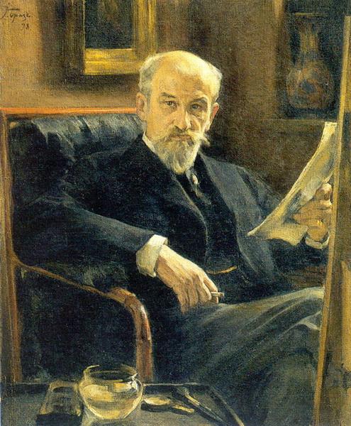 Портрет А.И. Сомова (1897 г.)
