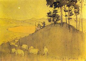 Прогулка после дождя (1896 г.)