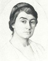 Портрет Г.Л. Гиршмам (1915 год)