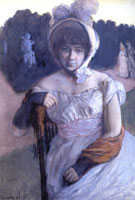Портрет Анны Карловны Бенуа (1896 год)