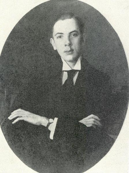 Портрет Е.С. Михайлова (1916 г.)