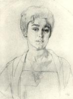 Портрет Н.Г. Высоцкой (1817 год)