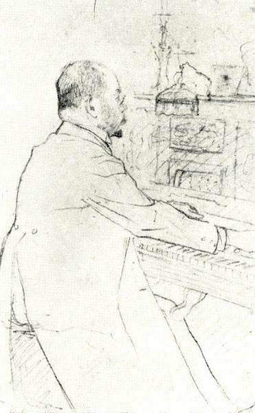 Портрет С.Д. Михайлова (1900-1910 гг.)