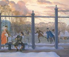 Зима. Каток (1915 г.)
