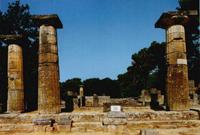Храм Геры в Олимпе. VI в. до н.э.