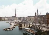 Гамбург (открытка 1895 года)