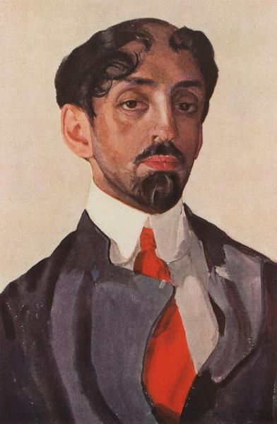 Портрет поэта Михаила Кузьмина (1909 г.)