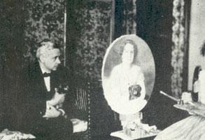 К.А. Сомов и Е.С. Рахманинова (1925 г.)
