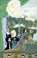 Проект занавеса для Свободного театра (1913 г.)