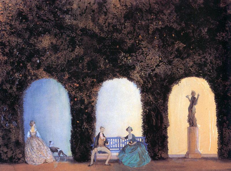В боскете (1899 г.)