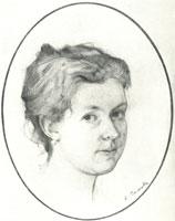 Портрет А.А. Сомовой-Михайловой (1397 год)