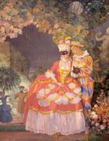 Арлекин и дама (1921 г.)