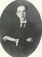 Портрет Е.С. Михайлова. 1916 год
