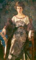 Портрет Е.П. Носовой (1910-1911 гг.)