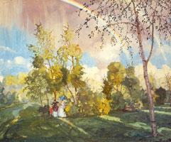 Пейзаж с радугой (1915 г.)