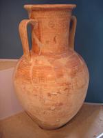 Элевсинская амфора с геометрическими мотивами. Элевсинский археологический музей. 8 в. до н.э.