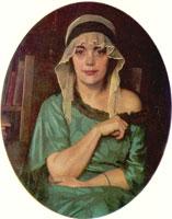 Портрет Е.К. Сомовой (1924 г.)