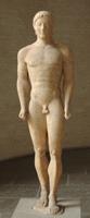 Мюнхенский курос. Ок. 540 г. до. н.э. Мюнхенская глиптотека