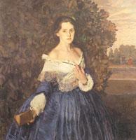 Дама в голубом (1897-1900 гг.)