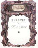 Обложка театральной программы (1900 год)