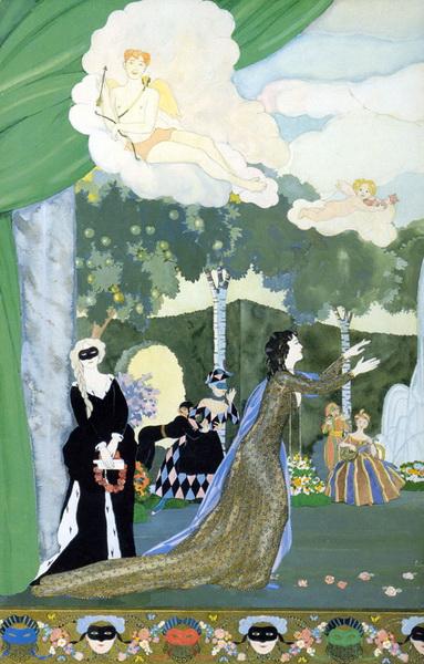Проект занавеса для Свободнго театра (1913 г.)