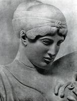 Дейдамия. Западный фронтон храма Зевса в Олимпии. 460-450 гг. до н.э. Олимпия. Музей