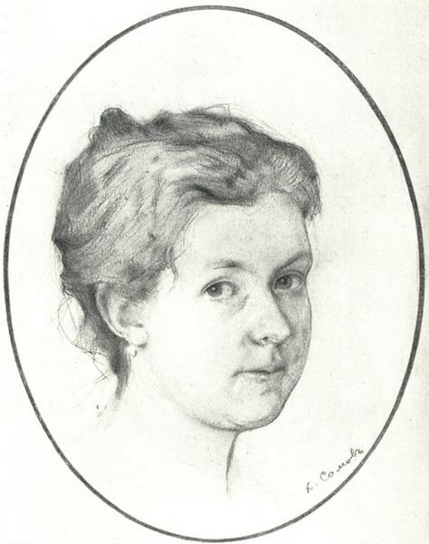 Портрет А.А. Сомовой-Михайловой (1897 г.)