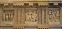 Метопа храма С в Селинунте. VI в. до н. э. Палермо, Национальный музей