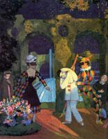 Пьерро и дама (1910 г.)