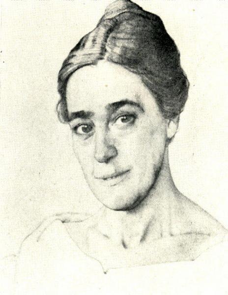 Портрет Н.Е. Добычиной (1921 г.)