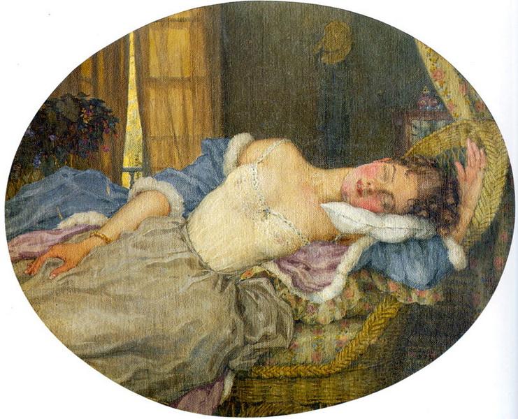 Спящая молодая женщина (1922 г.)
