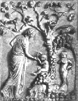 Адрастея кормит Зевса