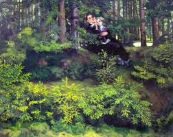 В лесу (1914 г.)