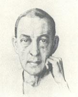 Портрет С.В. Рахманинова (1929 год)