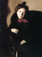 Портрет А.П. Остроумовой (1901 г.)