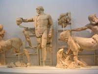 Фрагмент восточного фронтона храма Зевса в Олимпии
