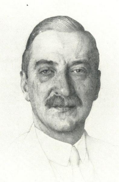 Портрет В.Ф. Нувеля (1914 г.)