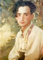 Портрет В.А. Сомова (1925 г.)