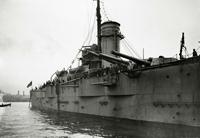 Линейный корабль Гангут на достройке, июнь 1914 года